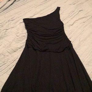 The Limited Black One Shoulder Dress Size S